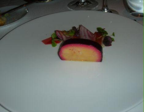Corton foie