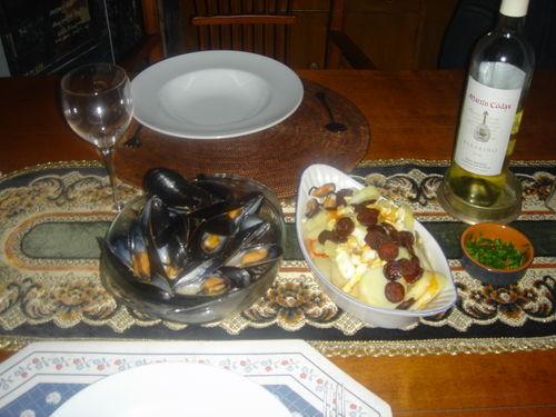Menudia mussels