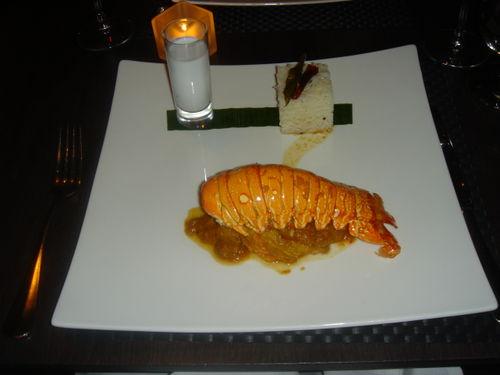 Vermilion lobster