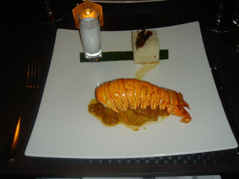 Vermilion lobster