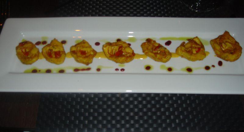 Vermilion artichokes