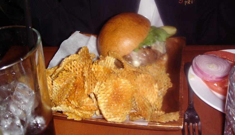 Redhead burger