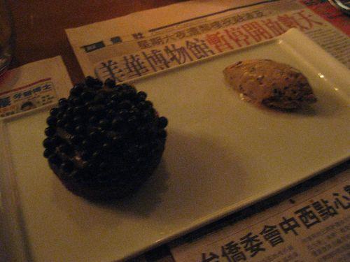 Graffiti chocolate caviar