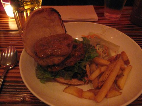 Hawkers burger