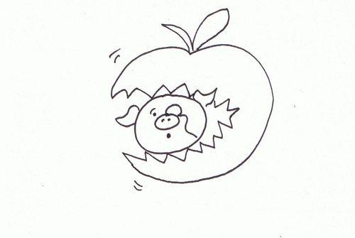 Eat apple - Copy